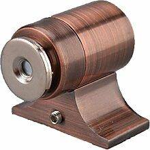 Hardware-Zink-Legierung Rost Unsichtbare Tür Saugt Magnetische Stopper Absturz Dauerhaft Türstopper Tür Saugt Magnetklemme,Brown