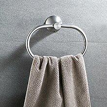 Hardwareh Badezimmer, Bettwäsche, Handtuch, Ring Edelstahl 304 Handtuch Handtuch Ring Ring, Nagel Freemodern Einfache und dauerhafte Dekoration klassischen Qualitätssicherung