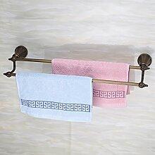 Hardwareh Zweipolige Handtuchhalter Bad Handtuchhalter Bathroommodern Einfache und dauerhafte Dekoration klassischen Qualitätssicherung