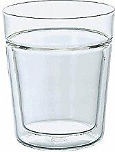 Hario VD 260ml Rock Glas isoliert doppelwandig