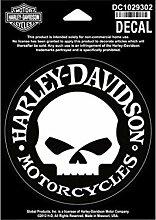 Harley-Davidson Aufkleber Hubcap