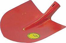 HAROMAC Frankfurter Schaufel Gr.5, roter Lack,