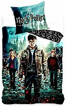 Harry Potter 140x200+1x70x80 Bettwäsche Se