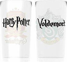 Harry Potter Crests Bier-Glas-Set Standard