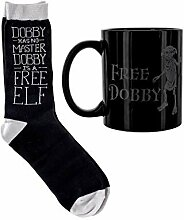 Harry Potter - Free Dobby - Tasse mit Socken -