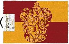 Harry Potter Fußmatte Gryffindor rot/gelb, aus