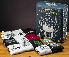 Harry Potter Hogwarts Socken Christmas Advents