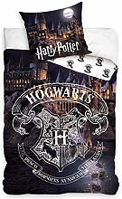 Harry Potter HP183016B Hogwarts Wende-Bettwäsche