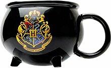 Harry Potter Tasse 3D Hexenkessel mit Hogwarts