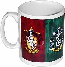Harry Potter Tasse mit Häuser Wappen, aus Keramik