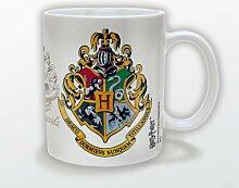 Harry Potter Tasse mit Hogwarts Wappen, aus Keramik