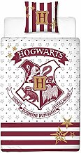 Harry Potter Wende-Bettwäsche Hogwarts Wappen