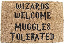Harry Potter Wizards Welcome Muggles Tolerated