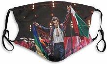 Harry Styles Mund mit Filter Unisex verstellbares