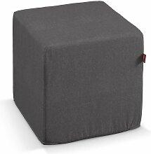 Harter Sitzwürfel, dunkelgrau, 40 x 40 x 40 cm, Etna
