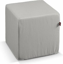 Harter Sitzwürfel, hellgrau, 40 x 40 x 40 cm, Etna