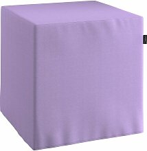 Harter Sitzwürfel, lavendel, 40 x 40 x 40 cm, Jupiter