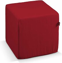 Harter Sitzwürfel, rot, 40 x 40 x 40 cm, Etna