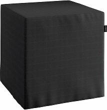 Harter Sitzwürfel, schwarz, 40 x 40 x 40 cm, Jupiter
