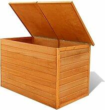 Hartholz Auflagenbox Kissenbox Gartenbox | 116 x
