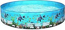 Hartkleber-Pool, kein aufblasbarer Pool, Innen-