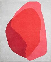 Hartô - Jane Teppich, rot / pink cameo