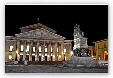 Hartschaum Bilder - Wandbild Bayerische Staatsoper München