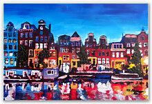 Hartschaum Bilder - Wandbild Bleichner - Amsterdam