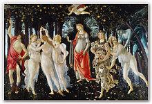 Hartschaum Bilder - Wandbild Botticelli - Der Frühling