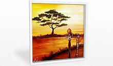 Hartschaum Bilder - Wandbild Fedrau - Afrika