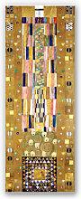 Hartschaum Bilder - Wandbild Klimt - Werkvorlage für den Stocletfries