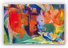 Hartschaum Bilder - Wandbild Marc - Abstrakte