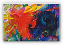 Hartschaum Bilder - Wandbild Marc - Kämpfende Formen