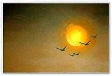 Hartschaum Bilder - Wandbild Melz - Fly