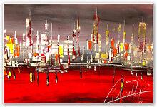 Hartschaum Bilder - Wandbild Niksic - Metropolitan