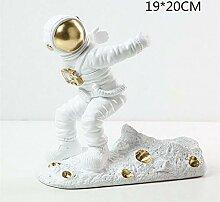 Harz Astronaut Weinregal Figuren Moderne