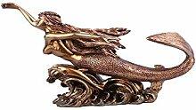 Harz Handwerk Continental Red Copper Mermaid