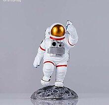 Harzkunstverzierungs-Astronauten-Handyhalter (Size