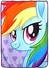 Hasbro Überwurf Decke, Mehrfarbig,
