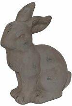 Hase Figur aus Keramik Vintage Ostern Osterdeko