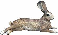 Hase Uwe Dekofigur Feldhase Rammler Kaninchen