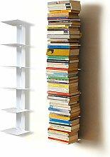Haseform Bücherturm 90 cm (für 1m Bücher) Weiss
