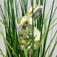Hasen Osterhase 6 cm 6 Stück Osterdeko Stecker Pflanzenstecker Ostern Dekofigur