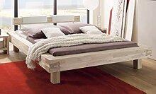 HASENA Bett Pescara Akazie gebürstet lackiert
