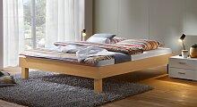 Hasena Designerbett Sierra, 90x200 cm, Buche natur