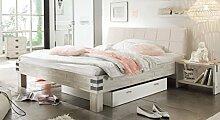 HASENA Factory Line Loft Bett Akazie vintage white