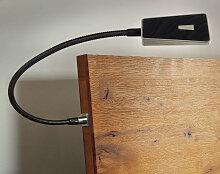 Hasena Nachttisch Lampe Smart schwarz