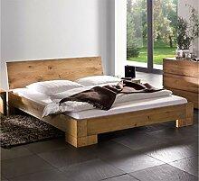 Hasena Oak Line Bett Varus Füße Vaco massiv