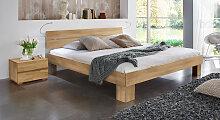 Hasena Seniorenbett Komfort, 90x200 cm, Buche natur