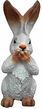 Hasenfigur hält sich Mund zu - Tierfiguren - HF008